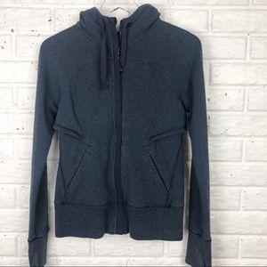 LULULEMON Hooded full zip fleece